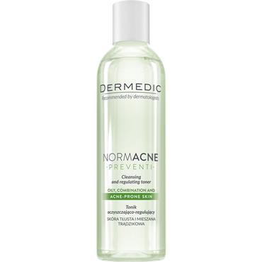 dermedic NORMACNE cleansing and regulating skin toner 200ml