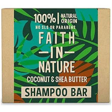 Faith in Nature Shampoo Bar Coconut & Shea Butter 85g