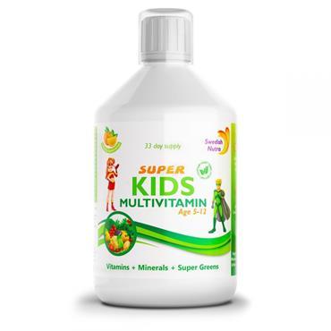 SWEDISH NUTRA SUPER KIDS MULTIVITAMIN 500ML