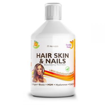 SWEDISH NUTRA HAIR SKIN & NAILS 500ML