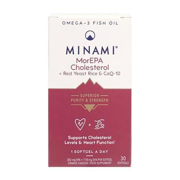 MINAMI MOREPA CHOLESTEROL + RED YEAST RICE & COQ-10 CAPSULES 30s