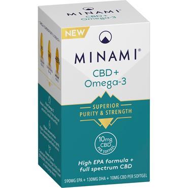 MINAMI MOREPA CBD + OMEGA 3 30