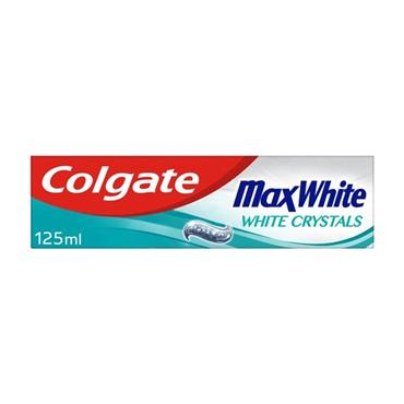 COLGATE MAX WHITE CRYSTAL MINT TOOTHPASTE 125ML