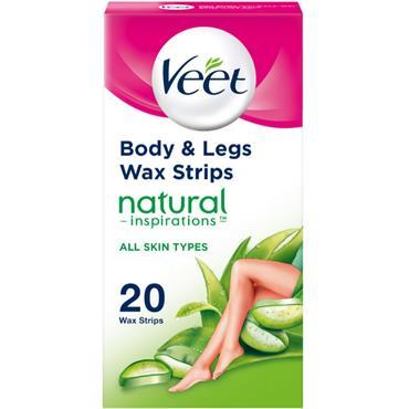 veet Natural Inspirations Wax Strips 20's