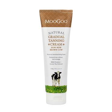 MOOGOO How Now Brown Cow Gradual Tanning Cream 120g