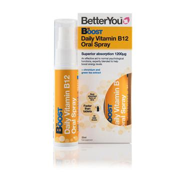 BETTER YOU MULTIVIT B12 BOOST PURE ENERGY SPRAY 25ml