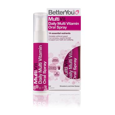 BETTER YOU MULTIVIT DAILY ORAL SPRAY 25ml
