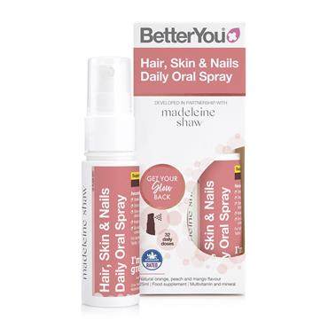 BETTER YOU HAIR SKIN & NAILS DAILY ORAL SPRAY 25ML