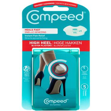 Compeed Discreet high Heel Cushioning Blister Plasters 5s