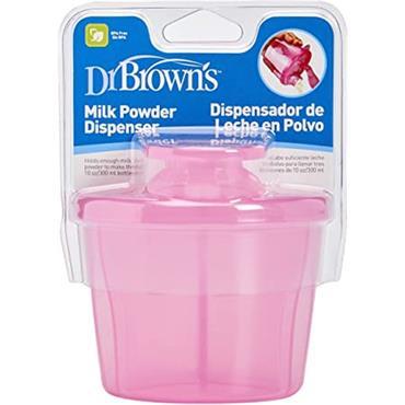 DR BROWN'S PINK MILK POWDER DISPENSER