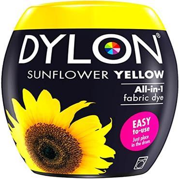 DYLON POD MACHINE DYE SUNFLOWER YELLOW 05 350G