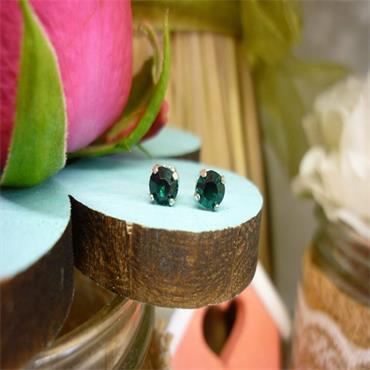 Earsense May Birthstone Stud Earrings