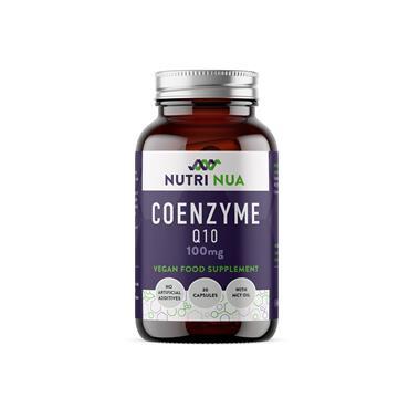 Nutri Nua Coenzyme Q10 100mg Vegan Capsules 30s