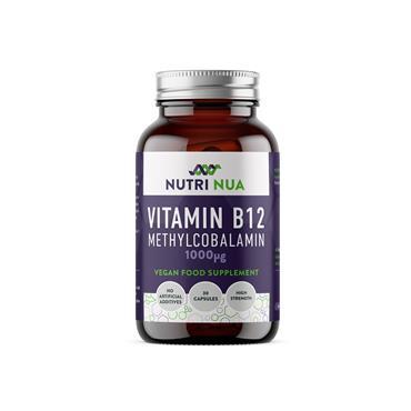 Nutri Nua Vitamin B12 1000mcg Vegan Capsules 30s