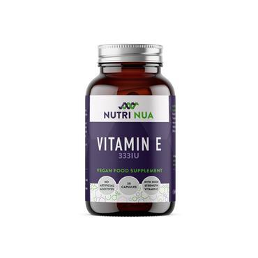 Nutri Nua Vitamin E 333iu with Vit C Vegan Capsules 30s