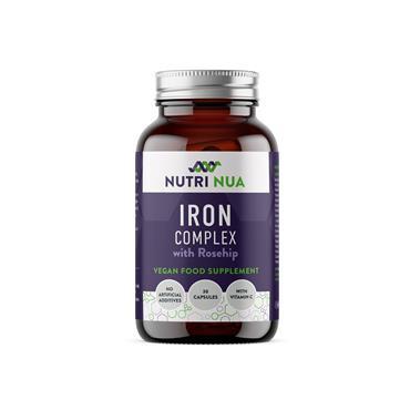 Nutri Nua Iron Biglycinate Complex Vegan Capsules 30s
