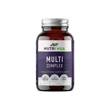 Nutri Nua Multi Complex High Strength Vegan Capsules 60s