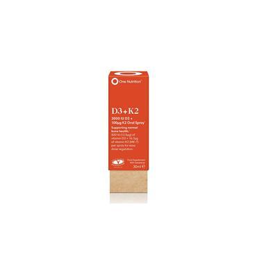One Nutrition D3 & K2 Oral Spray 30ml
