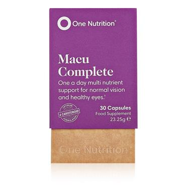 One Nutrition Macu Complete capsules 30s