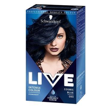 SCHWARZKOPF LIVE INTENSE COLOUR COSMIC BLUE 90