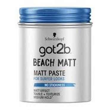 SCHWARZKOPF BEACH MATT PASTE 100ML