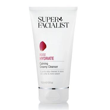 Super Facialist Rose Hydrate Calming Creamy Cleanser 150ml