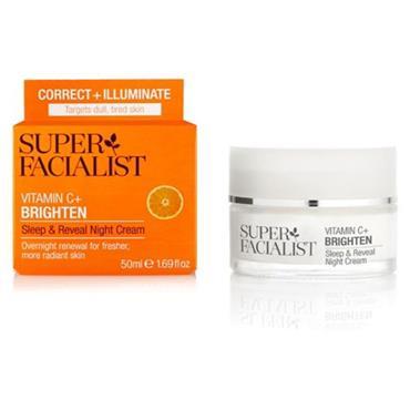 Super Facialist Vitamin C Sleep & Reveal Night Cream 50ml