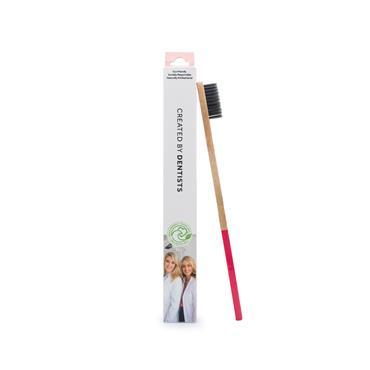 Spotlight Pink Bamboo Toothbrush