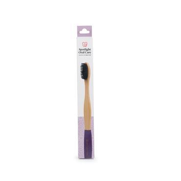 Spotlight Purple Bamboo Toothbrush