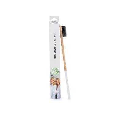 Spotlight White Bamboo Toothbrush