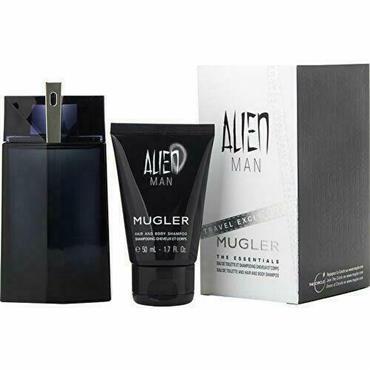 THIERRY MUGLER ANGEL MEN 100ML REFILLABLE SPRAY 50ML HAIR AND BODY SHAMPOO