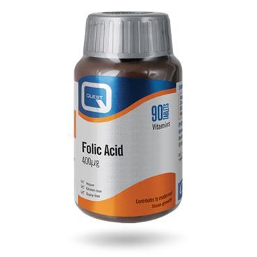 Quest Folic Acid tablets 90s