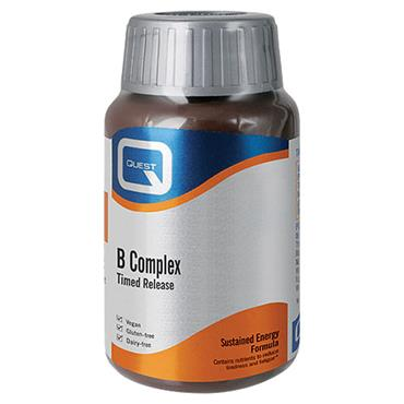 Quest B complex Time Release tablets 30s