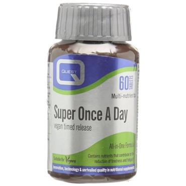 Quest Super Once a Day Vegan tablets 60s