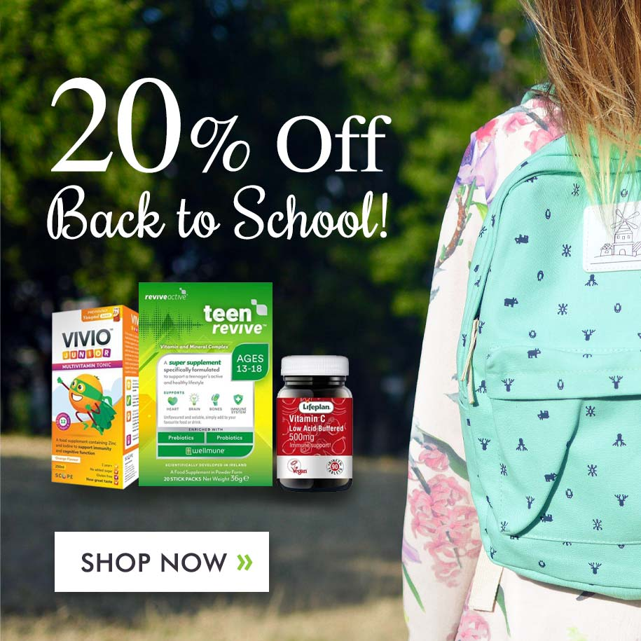 20% Off Back to School