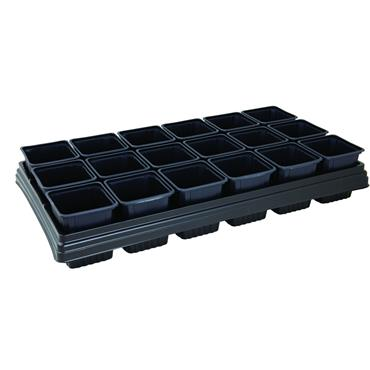 GROWING TRAY 18 POT SQUARE