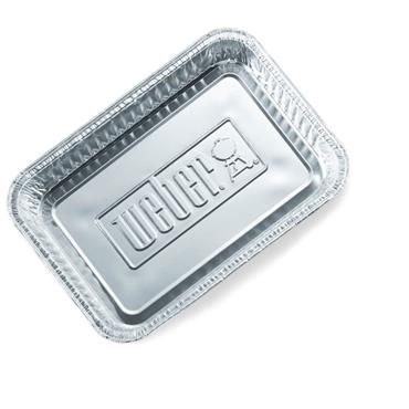 WEBER DRIP PANS LARGE 10 PACK