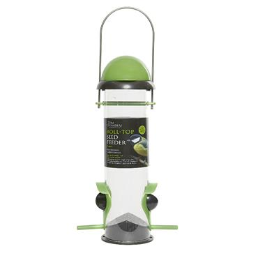 ROLL TOP SEED FEEDER - 2 PORT