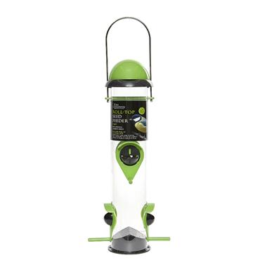 ROLL TOP SEED FEEDER - 4 PORT