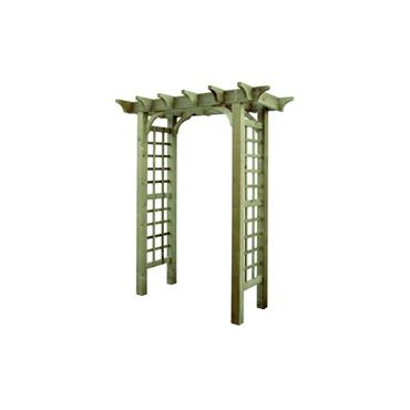 TIMBER GARDEN ARCH WOODFORD HEAVY DUTY