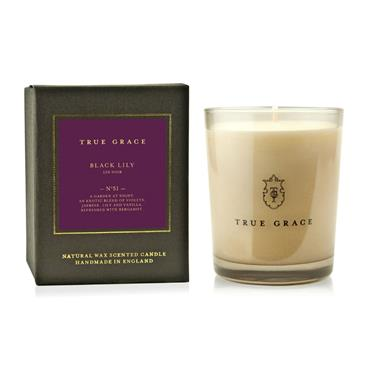 TRUE GRACE CANDLE MANOR BLACK LILY