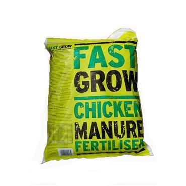 FAST GROW CHICKEN MANURE FERTILISER 10KG