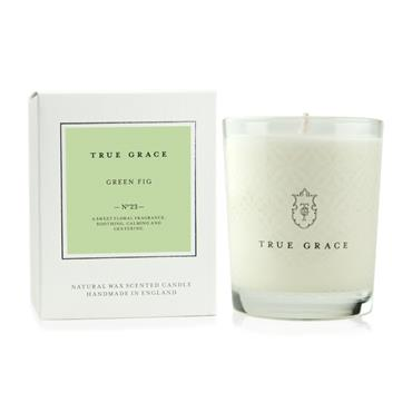 TRUE GRACE VILLAGE CANDLE GREEN FIG