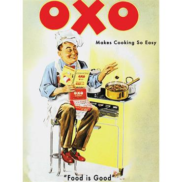 SIGN LARGE OXO