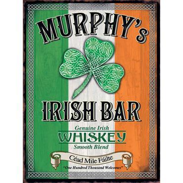 SIGN LARGE MURPHYS IRISH