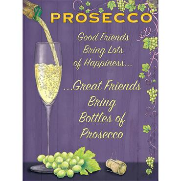 SIGN LARGE PROSECCO FRIENDS