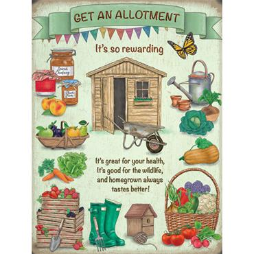 SIGN LARGE ALLOTMENT
