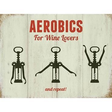 SIGN LARGE AEROBICS
