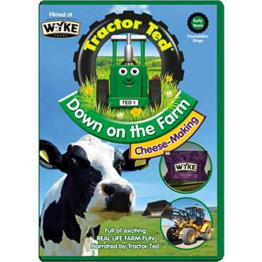 TRACTOR TED DVD DOWN ON THE FARM