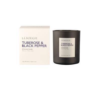 LA BOUGIE CANDLE TUBEROSE AND BLACK PEPPER